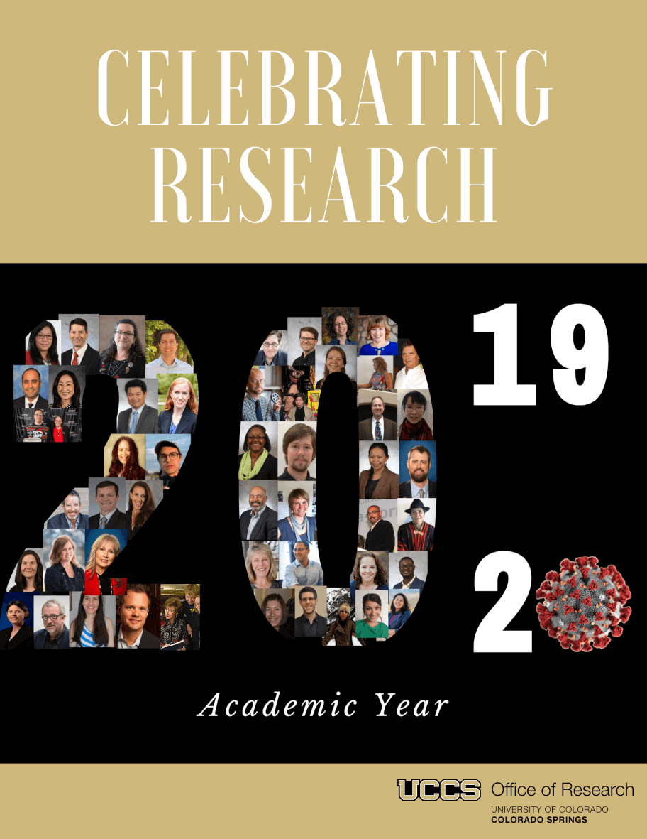 celebrating research cover page